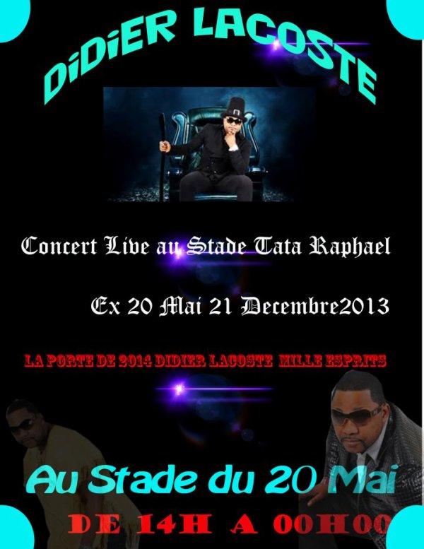 DIDIER LACOSTE AU STADE LE  21 DECEMBRE 2013