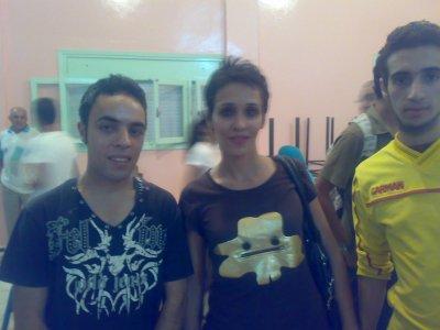 moi et Khalid Vec une actrice marocaine