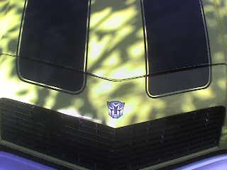 Transformers Camaro voisin