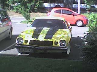 Transformers Camaro du voisin