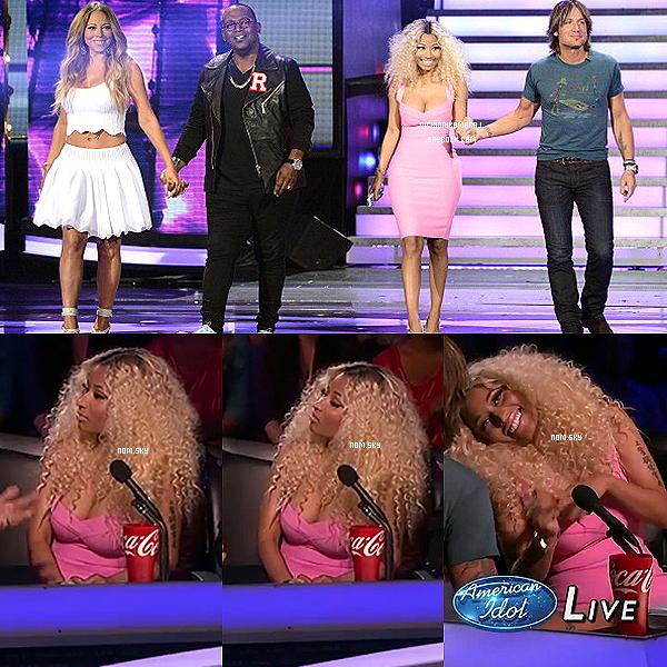 . 8th and 9th May  - Primes d'American Idol + Photos personnelles postés sur Twitter et Instagram..