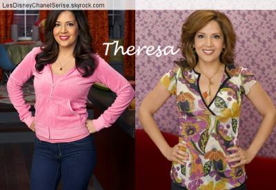 Les Sorciers de Waverly Place : Maria Canals Barrera / Theresa Russo