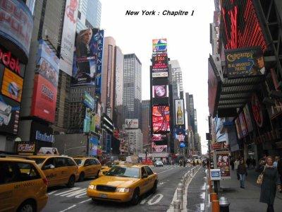 Chapitre 1 : Départ pour New- York