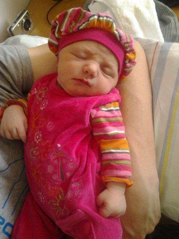 alessia née le 27 mars 2012