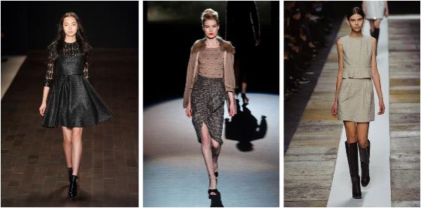 Fashion Weeks Automne-Hiver 2013/14.