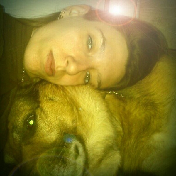 Un chien t'aime pour ce que tu EST,pas pour ce que tu AS!