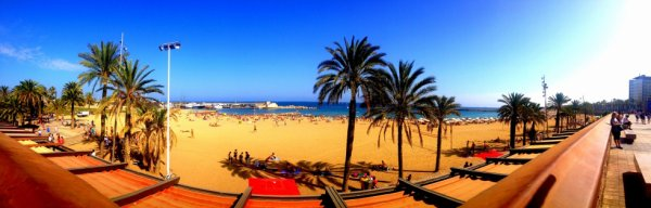 Barcelona's beach ☼