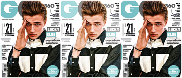 Lucky pour le magazine GQ Spain :
