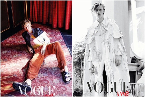 Photoshoot de Lucky pour Vogue Taiwan's :