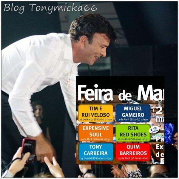 Tony Carreira amanhã em Aveiro!