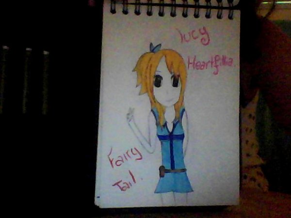 Mes dessins Fairy Tail.
