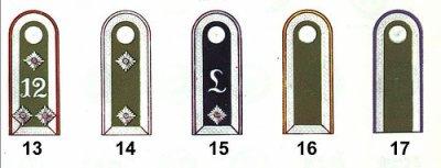 Grades de la Wehrmacht, hommes de rang, et sous -officiers (  des panzertruppen )