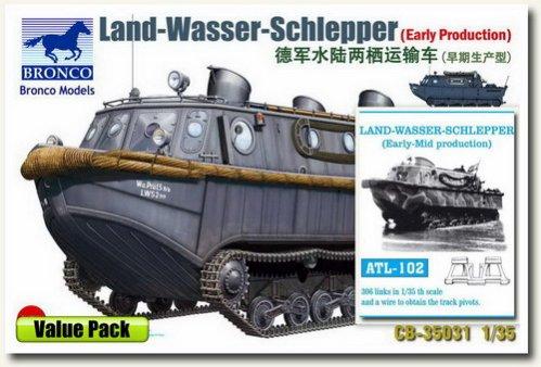 LE LAND-WASSER-SCHLEPPER en maquette