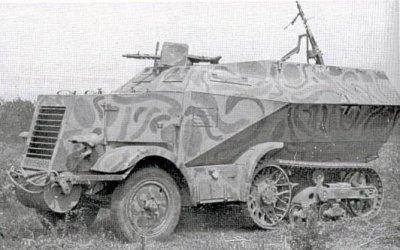 Baukommando Becker réalisations sur chassis UNIC P 107