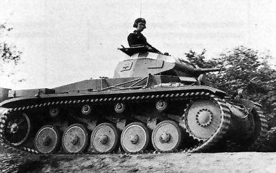 LE PANZER II (F) SDKFZ 122 FLAMINGO.