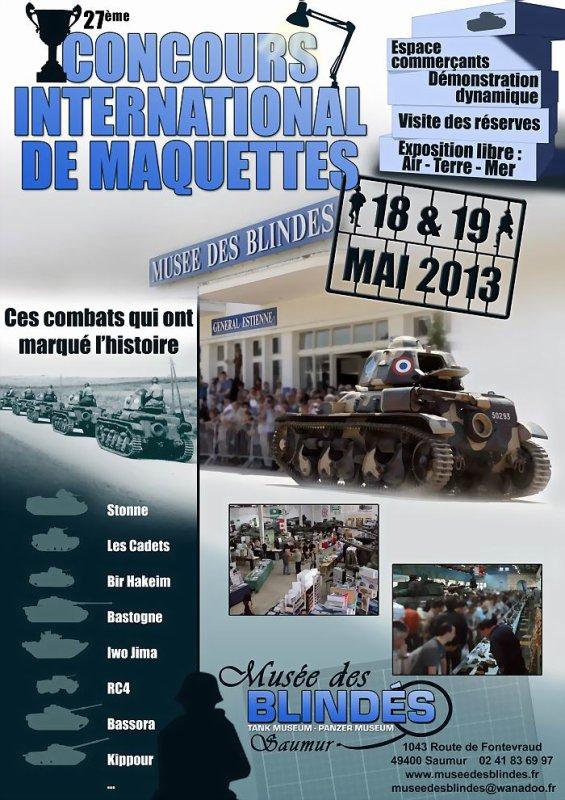 Concours International de Maquettes 2013