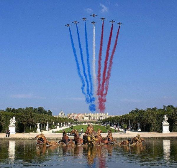 60 ANS DE LA PATROUILLE DE FRANCE ( souvenir de vacance )
