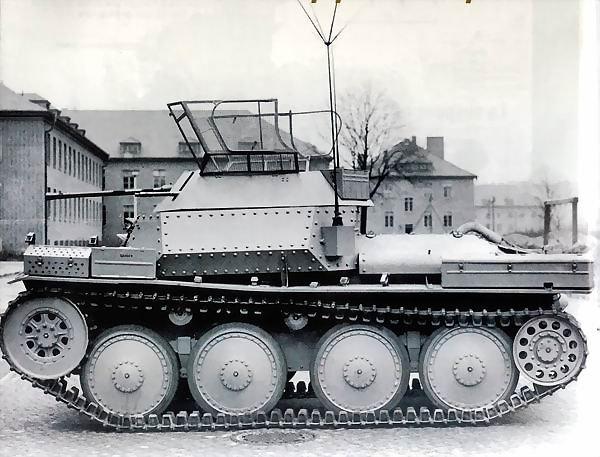 Sd.Kfz.140/1 Aufklarungspanzerwagen 38