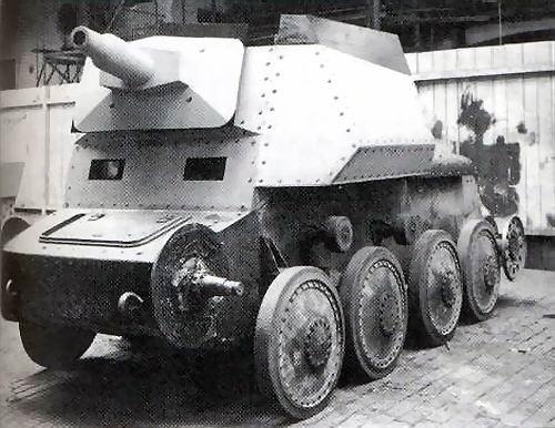 Sd. Kfz. 140 /1 Auflarungspanzerwagen 38 2cm  (suite)