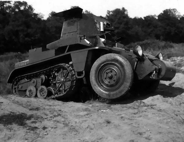 le Half - Track , une invention Française.