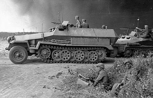 le Sd. Kfz 251 Ausf. B.