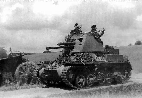 Panzerjager I Ausf.B ( suite )