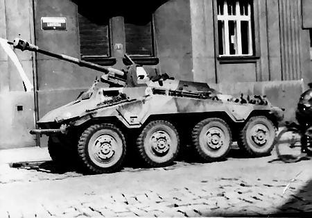 Du Sd.Kfz 234/3 au 234/4