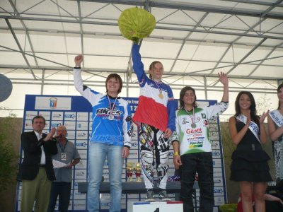 CHAMPIONNAT DE FRANCE CADETTE 2011      1ER