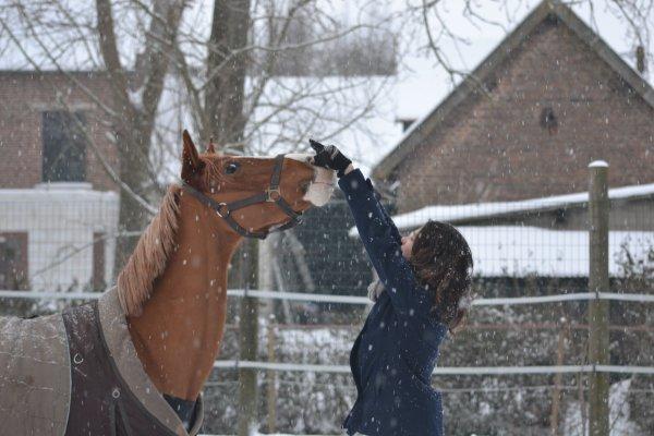 Il neige ♥