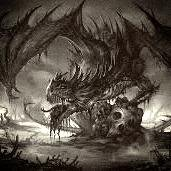 Alexay forme dragon de la mort