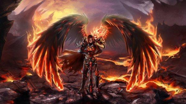 forme ange de feu arihito