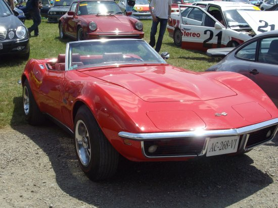 Corvette décapotable