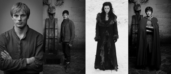 .  Merlin → None of us can choose our destiny .