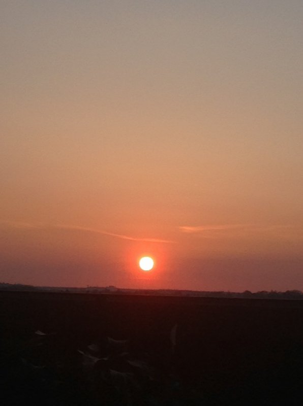 Couchez de soleil, l'avez vous chez vous ? :)