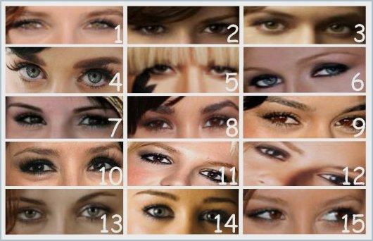 (ds le style jeu) A qui appartient ces yeux ?