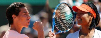 Tennis: Tournoi du grand chelem: Roland-Garros 2011. Du 22 mai au 05 juin. La finale dames: F. Schiavone/N. Li.
