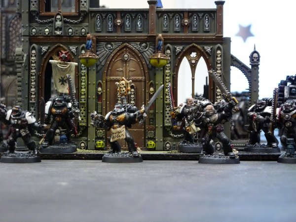 Mon armée Black Templars