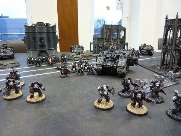 Mon armée Black Templars (2)