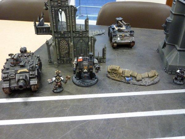 Mon armée Black Templars (3)