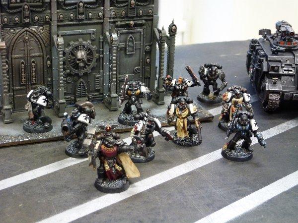 Mon armée Black Templars (4)