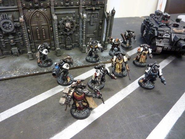 Mon armée black Templars (8)