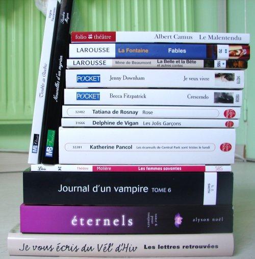 - Acquisitions du mois de Mars 2012 + Bilan -