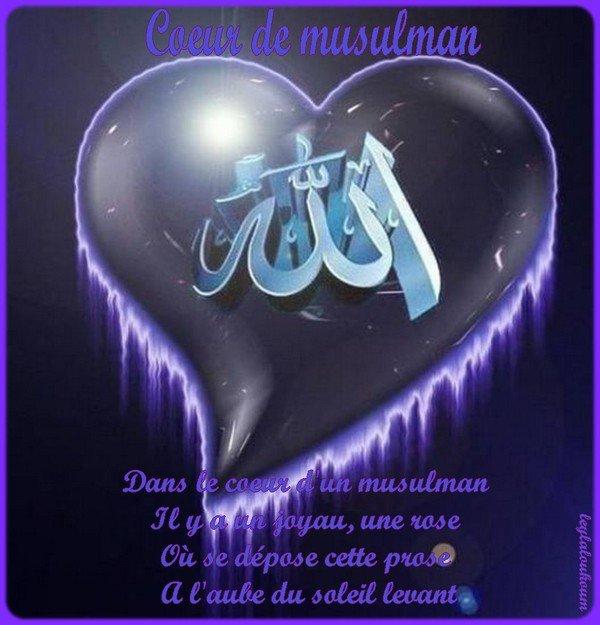 COEUR DE MUSULMAN