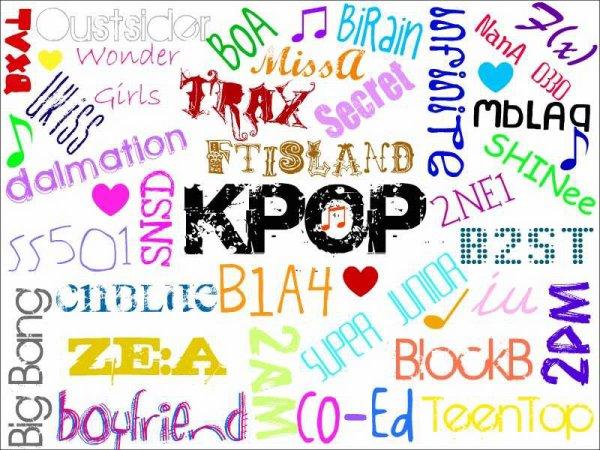 Voilà pourquoi j'aime la Kpop, Jpop, drama et manga
