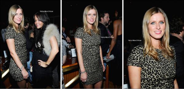 """** 12 Septembre _  Nicky & Allison Melnick à la célébration du """"V"""" magazine à New York. **"""