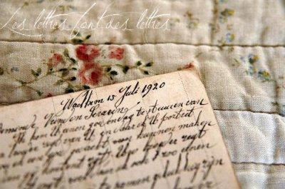 Publier vos lettres