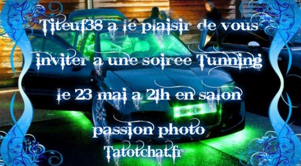 Méga soirée le 23/05/2014 a 21h sur TATOTCHAT.FR