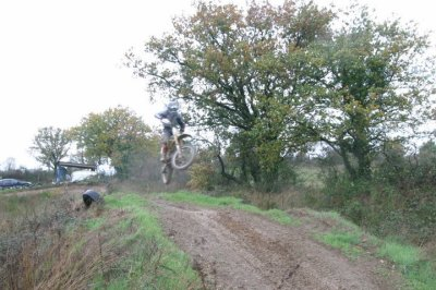session motocross sur la boue
