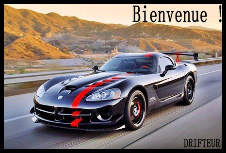 Bienvenue, Dodge Viper
