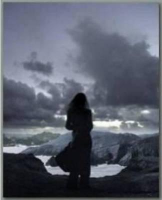 La solitude...